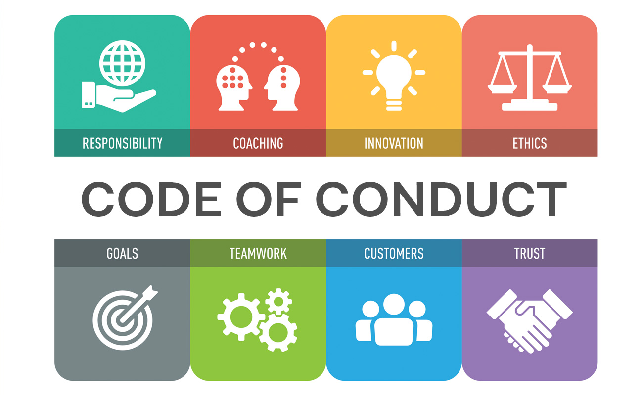 Definition of 'code of conduct'