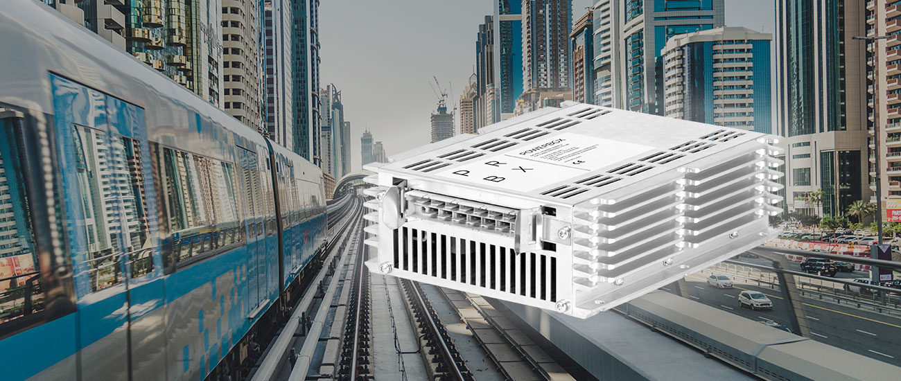 DC/DC converter for light-rail and